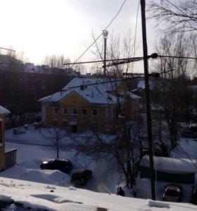 Скидывание снега с крыш