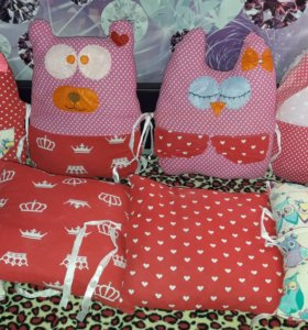 Бортики на детскую кровать
