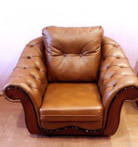Новые кожаные кресла