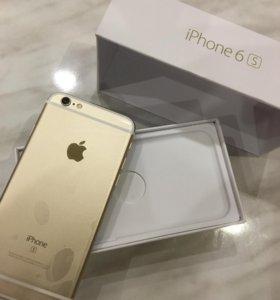 iPhone 6c на 16г голд
