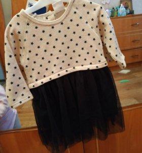 Платье размер 80