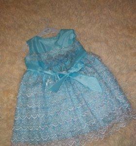 Платье , размер 80