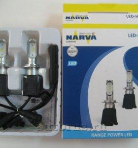 Светодиодная автомобильная лампы H7 NARVA