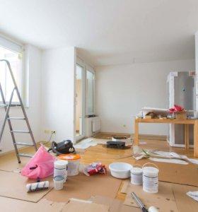Выравнивание стен, подготовка под обои .
