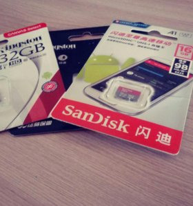 Карта памяти SanDisk 16GB