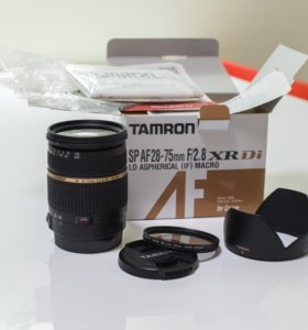 Tamron SP AF 28-75mm F/2.8 MACRO for Canon