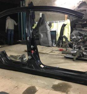 Civic 4D стойка и двери правые