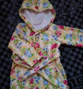 Детский халат махровый.