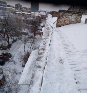 Уборка снега,наледи(крыши)