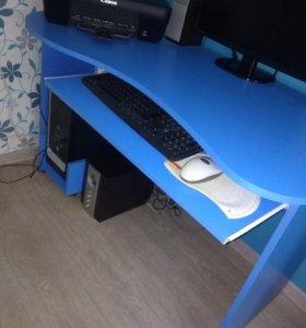 Компьютерный стол+тумба