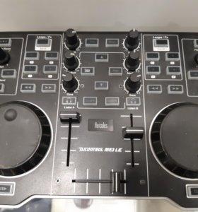 Dj контроллер Hercules MP3 LE
