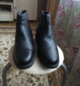 Мужские кожаные сапоги