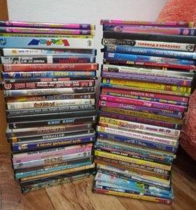 DVD диски советские фильмы и мультфильмы для д