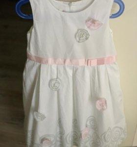 Платье для девочки рост 122