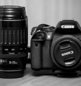 Canon EOS 650D EF 70-210mm EF-S 24mm f/2.8