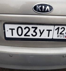 Номер на машину