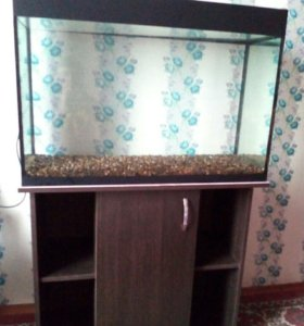 Продам аквариум с тумбой