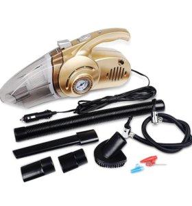 Автомобильный пылесос - компрессор (Новый)
