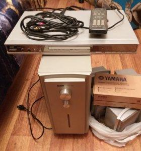 Видеомагнитофон BBK+ акустическая система