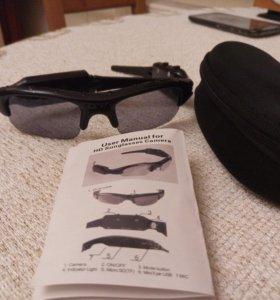 Очки-видеокамера с чехлом(новые)'подарок мужчине'