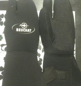 Перчатки трехпалые Beauchat 9 мм