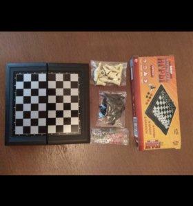 Шашки шахматы и нарды