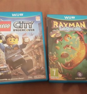 Nintendo Wii U Lego City Rayman