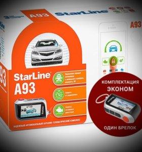 Starline А93 эко автозапуск