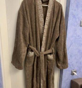 Шикарный новый мужской халат привезённый из Египта
