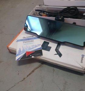 Зеркало с антирадаром и видеорегистр и gps