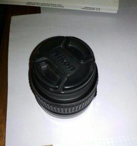 Объектив Nikon 18-55 на запчасти