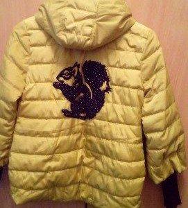 Куртка для девочки от 9-11 лет