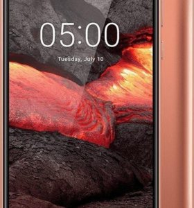 Nokia 5.1 3/32 2018 г. Android 8.0 NFC