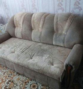 Диван+ 2 кресло-кровати