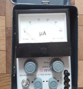 Прибор для проверки транзисторов ППТ