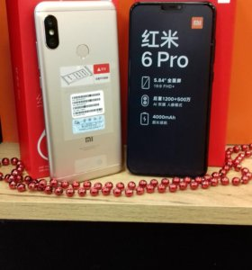 Xiaomi Redmi 6Pro 32/64 Black/Gold