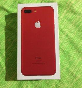 Комплект от iPhone 7 Plus, Red, 128 Gb