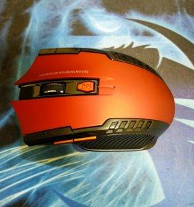 Беспроводная игровая компьютерная мышь новая