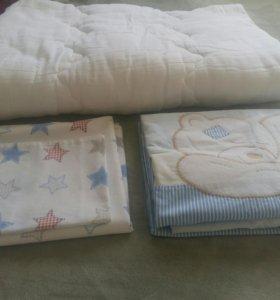 Одеяло и постельное