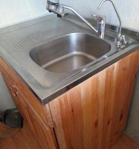 кухонный стол мойка