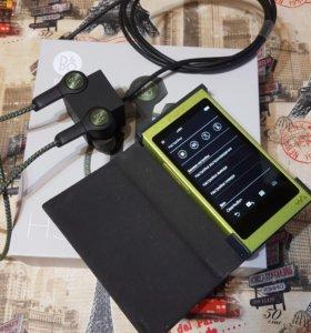 Плеер Sony NW-A35(16g)+Наушники Bang Olufsen