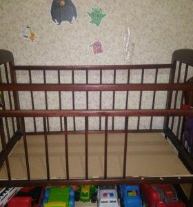 Кровать детская +матрац