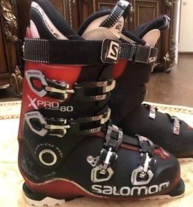 Мужские лыжные ботинки Salomon 28(42-43)р