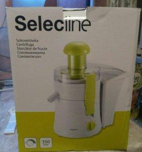 Соковыжималка Selectline новая