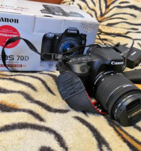 Canon EOS 70D Kit 18-55 IS STM Black