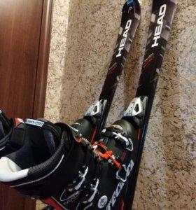 Горные лыжи head + SX 10