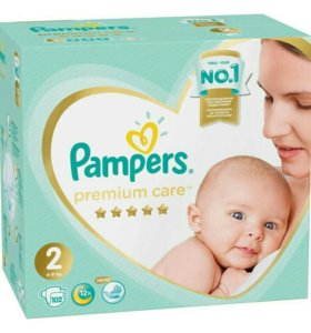 Pampers Premium Care 2 (4-8 кг)