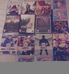 Игры пк и мп3 музыка по 50 рублей за диск