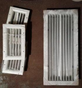 Продаются вентиляционные решетки металлические нов