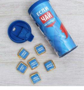 Термокружка с конфетками
